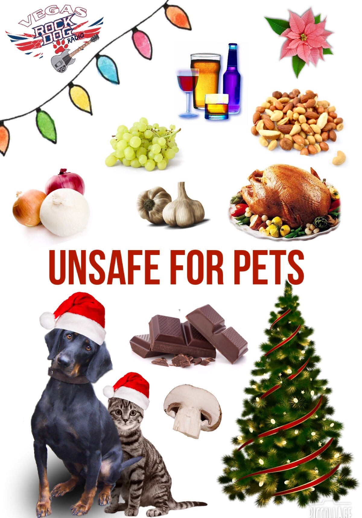 Did You Know The Harm These Holiday Foods And Plants Can Do To Your Pets?