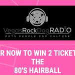 80's Hairball fundraiser for animal rescue in Las Vegas