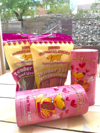 Wuv You Treats and Tender Taffy Jones Natural Chews