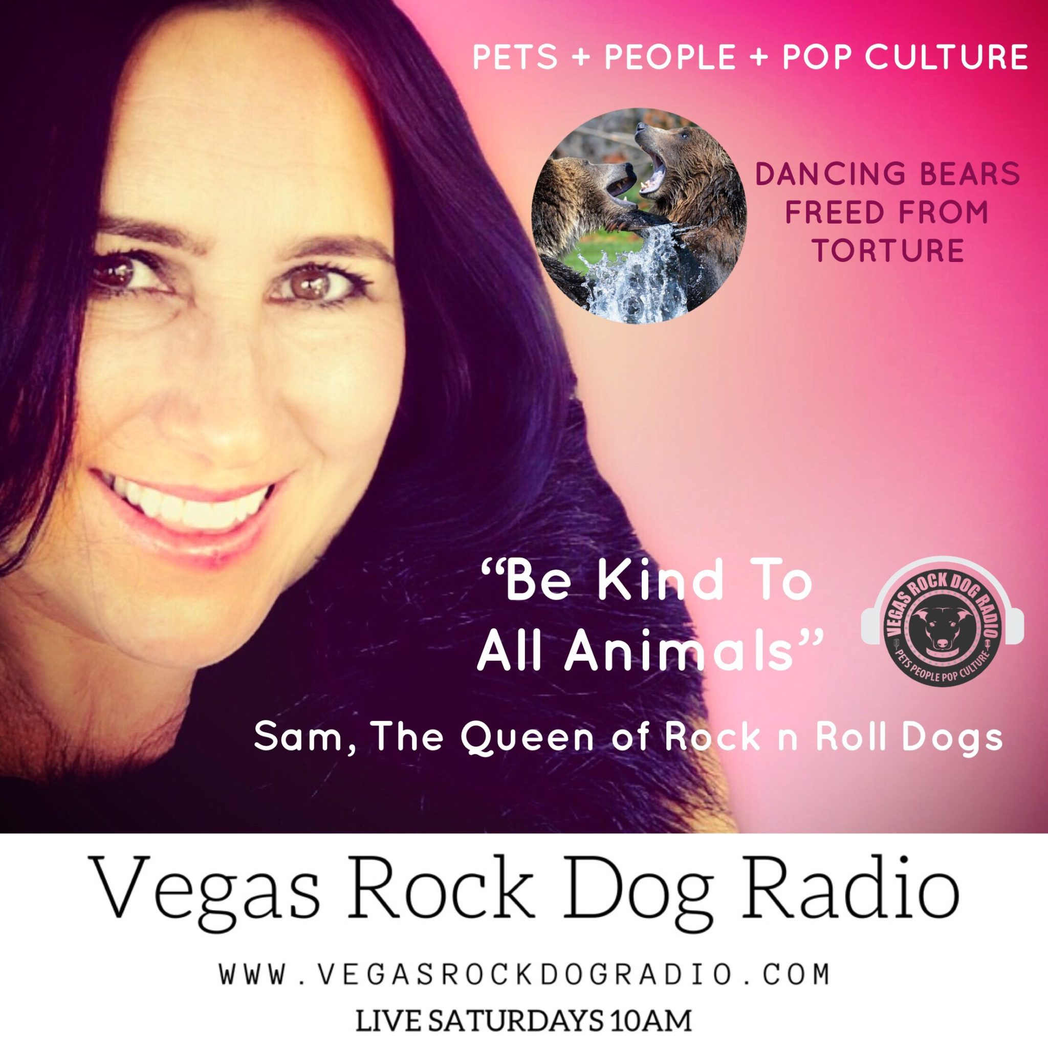 Vegas Rock Dog Radio Dancing bears freed from torture